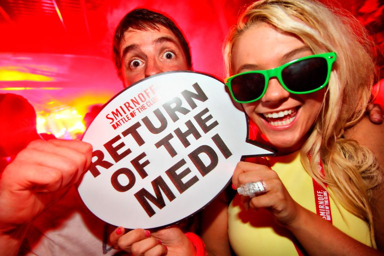Smirnoff Battle of the Clubs – Medication