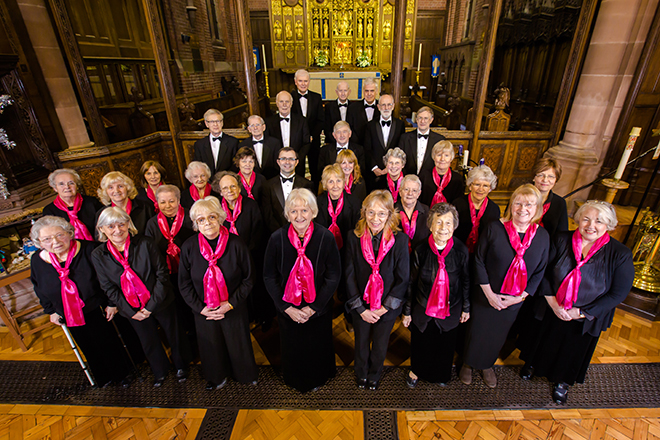 Port Sunlight Choral Society Group Photograph