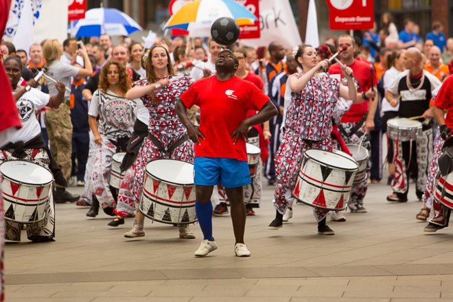Liverpool Batala Drum Band