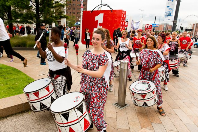 Liverpool Batala Drum Band