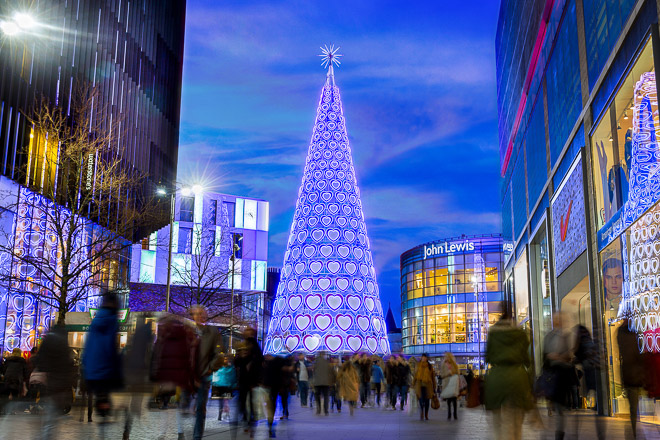 Trapeze Creative – Liverpool ONE Christmas Tree