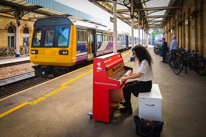 "Liverpool ONE ""Tickle the Ivories"" Promotional Video"