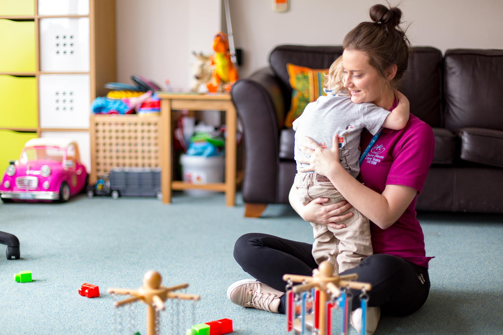 Claire House Children's Hospice – New Website Photography